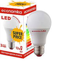 Светодиодная лампа Economka LED Super Price 12W Е27-4200К. Опт от 100шт