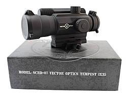 Коллиматорный прицел Vector Optics Tempest 1x35 Four Reticle Sight (SCRD-07)
