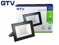 Светодиодный прожектор LED, GTV, 50W, IP65 (для улицы). Гарантия - 3 года!!!, фото 1