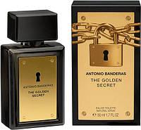 Чоловіча туалетна вода antonio banderas the golden secred 50 ml, фото 1