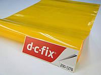 Самоклейка, 15 метров в рулоне, d-c-fix, 45 cm Пленка самоклеящаяся, глянцевая, светло-оранжевая