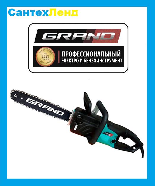 Пила цепная электрическая Grand ПЦ-2750 (Прямая)