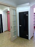 Двери Verto Гласфорд 1 со стеклом триплекс черный, фото 2