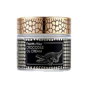 Крем с крокодильим жиром FARMSTAY Crocodile Oil Cream,70 мл