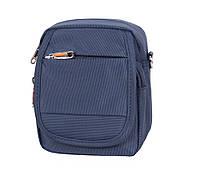 b96b12d0ab86 Маленькая мужская сумка на пояс и через плечо синяя NL231-14