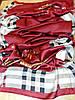 Палантин Burberry шелк, бордо, фото 5