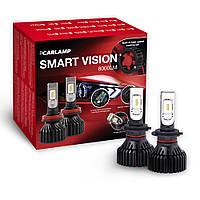Светодиодные лампы H7 Carlamp Smart Vision 8000 Lm 6500 K Philips ZES Chip 30000 часов (SM7)