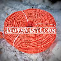 Веревка полипропиленовая (самокрут) диаметр 7 мм длина 200 метров, фото 1