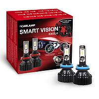 Светодиодные автолампы Carlamp Smart Vision H11 SM11 8000 Lm 6500 K