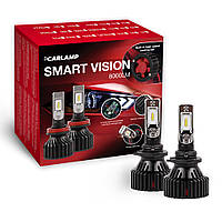 Светодиодные лампы HB4 Carlamp Smart Vision Led для авто 8000 Lm 6500 K (SM9006)