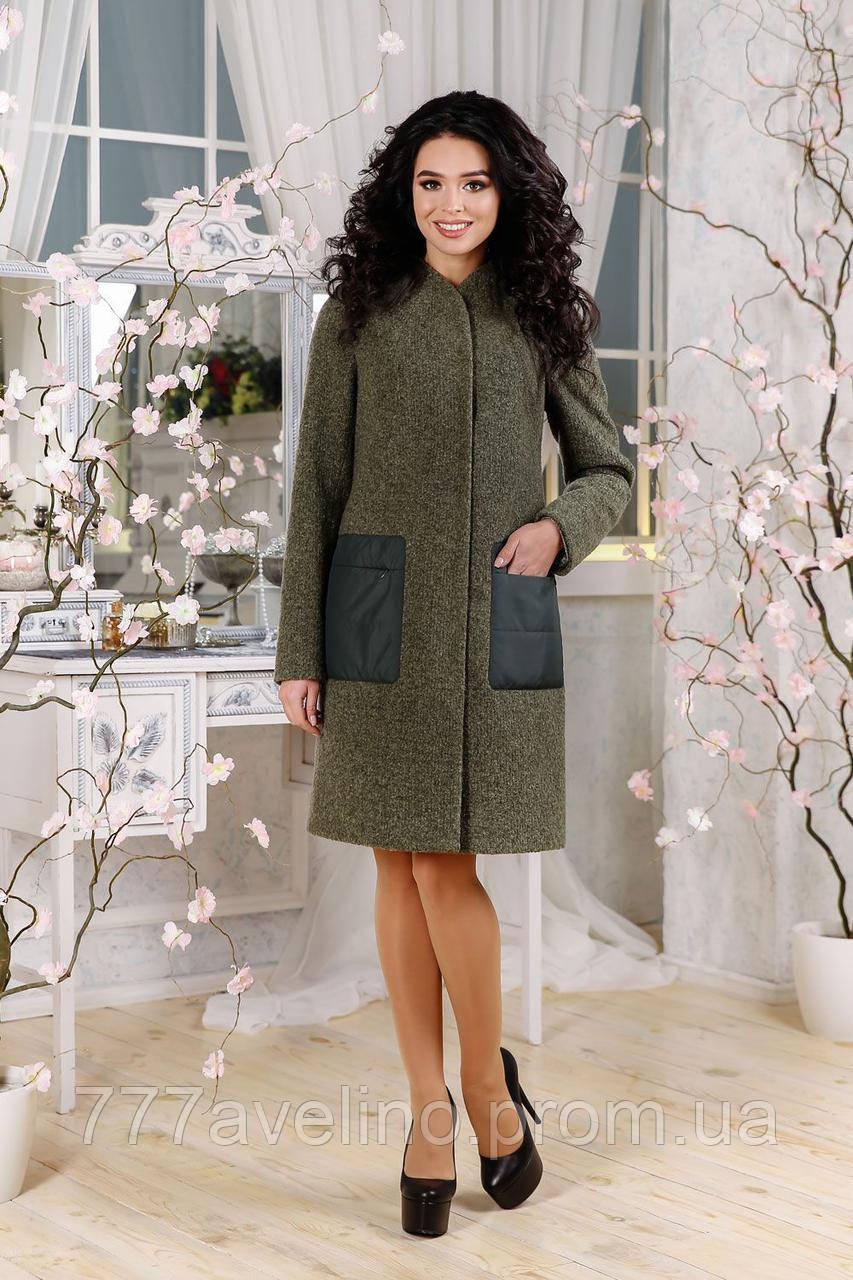 Женское пальто стильное демисезонное