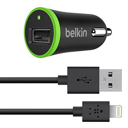 Автомобильное зарядное устройство Belkin 2.1 A IPhone 5 / 6