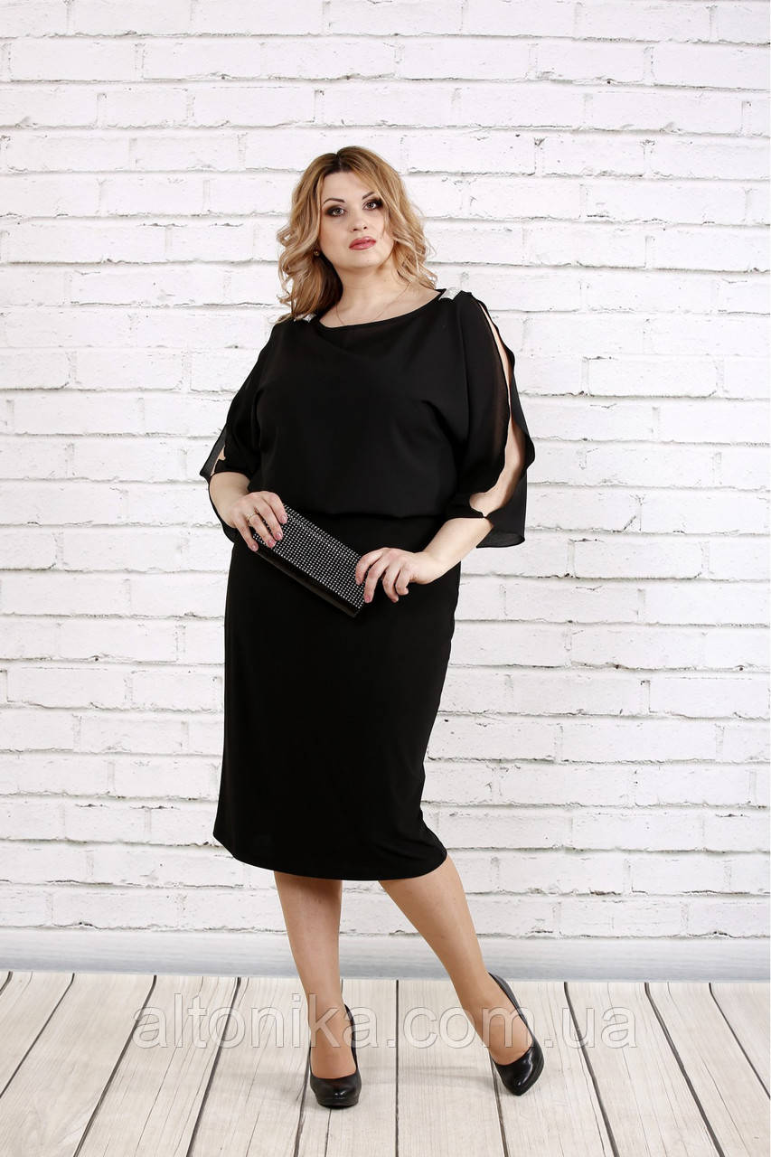 Свободное платье | Черное