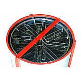 Электромедогонка 8-ми рамкова нержавійка(Рута), фото 3