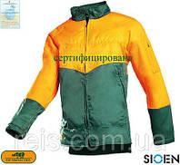 Куртка FORESTRY предназначенная для лесных работ, без защиты от работы электропилы SI-S-J1SJ6 ZP
