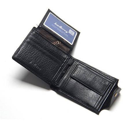 Горизонтальный мужской кошелек Baellerry., фото 2