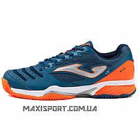 Кроссовки теннисные Joma ACE T.ACES-803 т.синьо-оранжевые