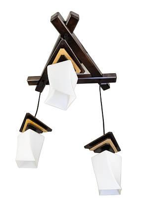 Люстра подвес 2207-1 Пирамида квадро, фото 2