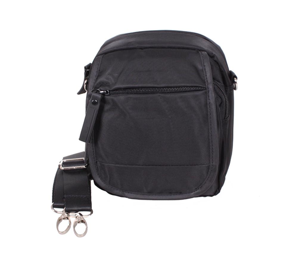 c21c14788c72 Маленькая мужская сумка на пояс и через плечо черная PR231-11 - АксМаркет в  Киеве