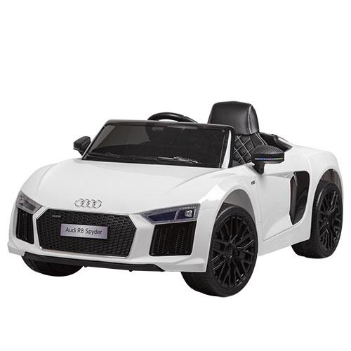 Детский Электромобиль Bambi Audi R8 Spyder White M2198 EBLR 1