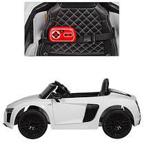 Детский Электромобиль Bambi Audi R8 Spyder White M2198 EBLR 1, фото 2