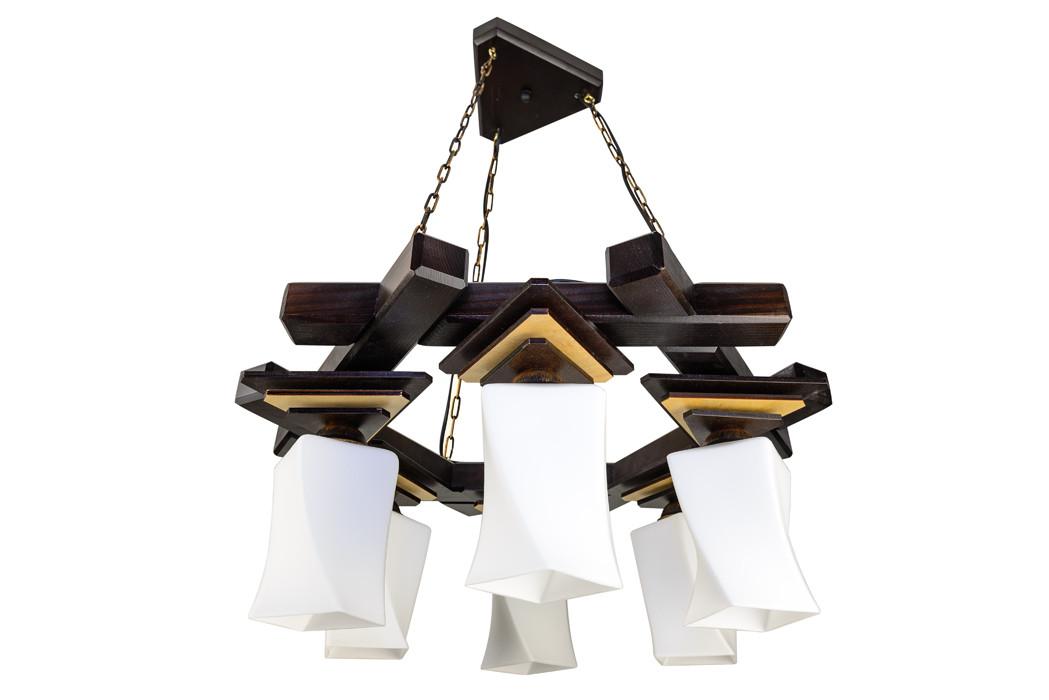 Люстра подвес 2213 Пирамида квадро