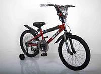 """Детский Велосипед """"NEXX BOY-20"""" Красный-Сплэш"""
