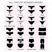 Разновидности женских трусиков