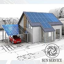 """Сонячна електростанція 3kW мережева під """"Зелений тариф"""" комплект економ, фото 3"""