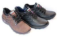 Кожаные мужские кроссовки  Размеры:40-45
