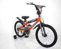"""Детский Велосипед """"NEXX BOY-20"""" Оранжевый-Сплэш, фото 1"""