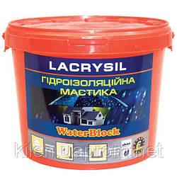 Мастика гидроизоляционная акриловая суперэластичная Lacrysil 1.0кг