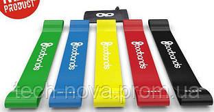 Резинки для фитнеса (комплект 5 шт, латекс)