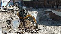 Демонтажные работы гидромолотом в Киеве и области