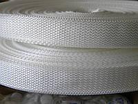 Лента ременная белая 25 мм  (50 метров)