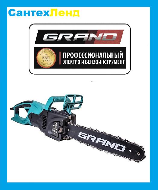 Пила цепная электрическая Grand ПЦ-2800 (Прямая)