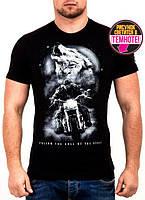 Мужская футболка с принтом Валимарк,модная, светится в темноте. М,Л,ХЛ,ХXL наличие размера уточняйте
