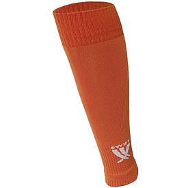 Гетры футбольные Swift без носка оранжевые
