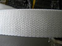 Лента ременная 40 мм белая (50 метров)