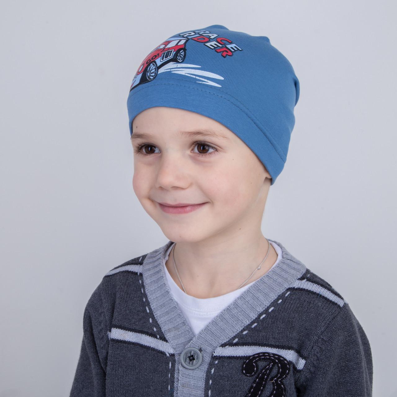 Спортивная шапка для мальчика на весну 2018 - Арт 2228