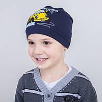 Хлопковая весенняя шапка для мальчика - Арт 2231