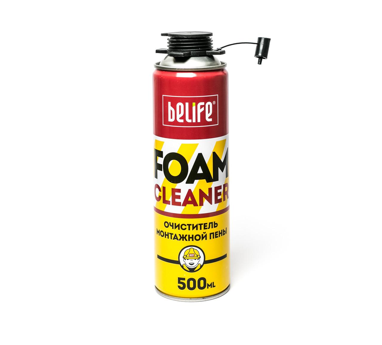 Средство для удаления монтажной пены. BeLife Foamcleaner