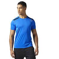 Мужская спортивная футболка Reebok WOR TECH (Артикул: BQ3841)