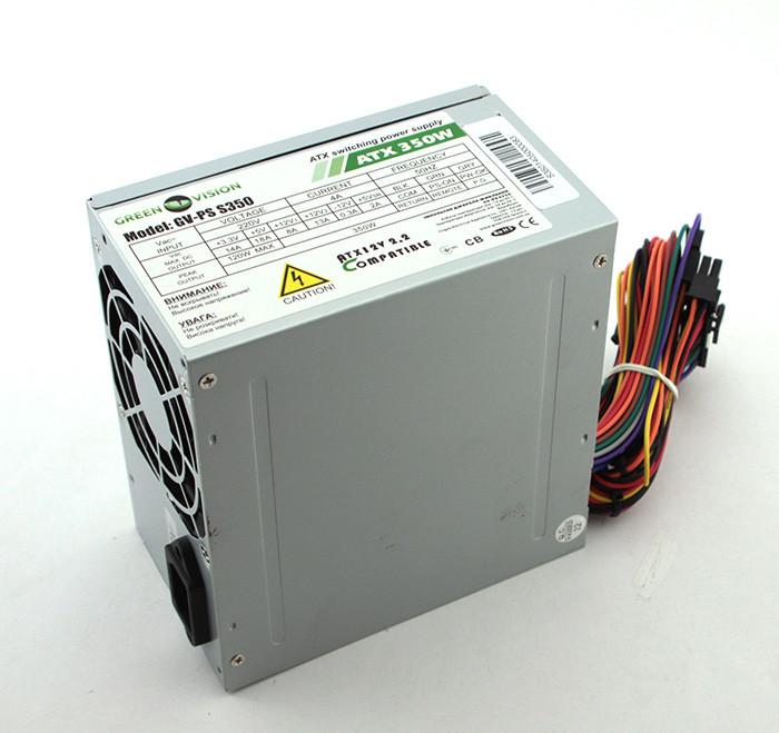 Блок питания GreenVision 400W Black (GV-PS ATX S400/8)