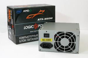 Блок питания Logicpower 350W ATX-350W (2279) БЕЗ КАБЕЛЯ ПИТАНИЯ