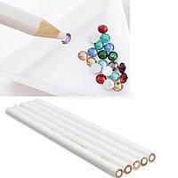 Карандаш для дизайна ногтей(страз)№543 белый
