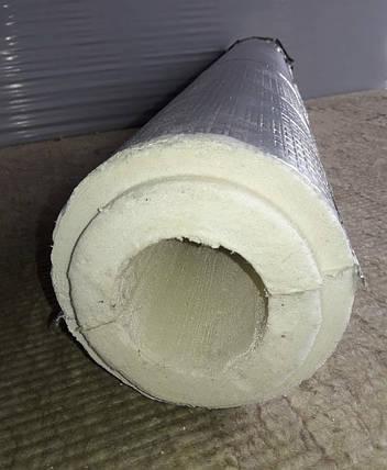 Утеплитель для труб в защитном покрытии из фольгопергамина (фольгоизола) -    Ø 38/42 мм, фото 2