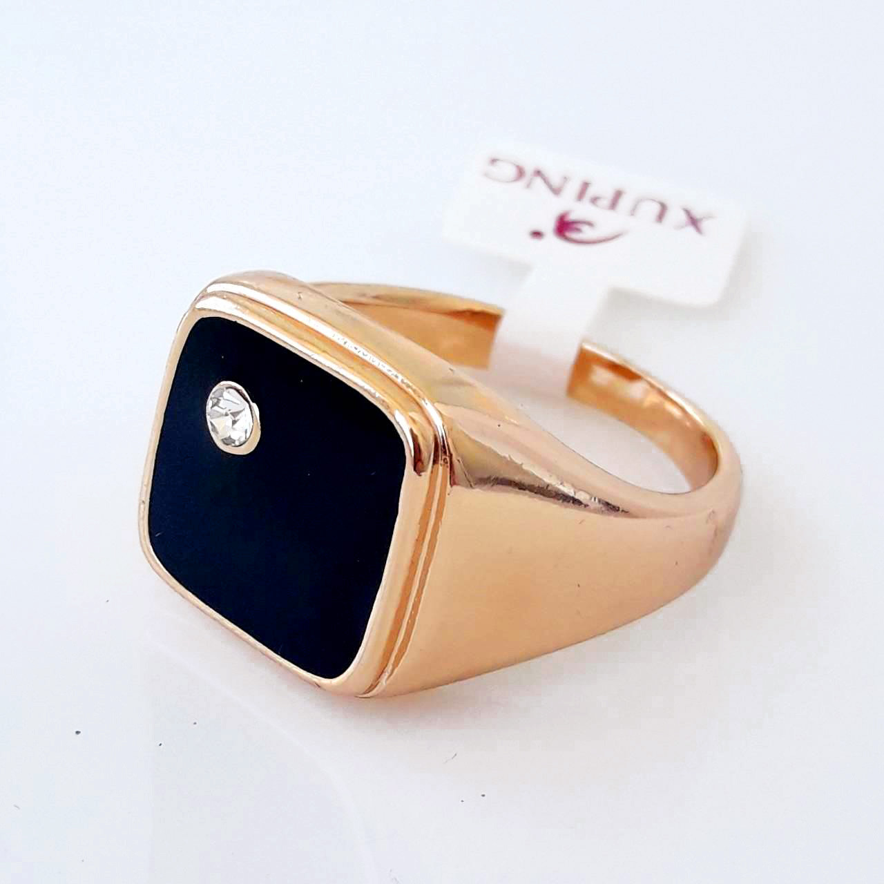 Перстень xuping 21р печатка мужская позолота 18К м345