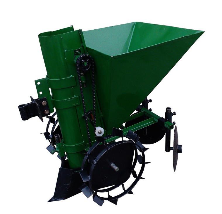 Картофелесажалка П-1Ц (зеленая)