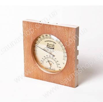 Термометр з гігрометром для лазні Віктер ТГС 6
